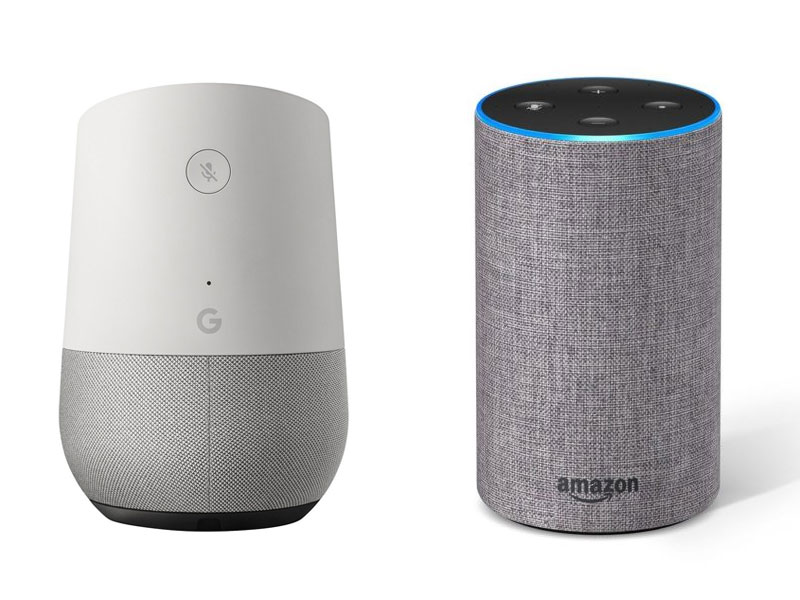 Amazon Alexa Vs Google Home App Development