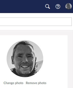 change profile picture in umbraco 8 back office